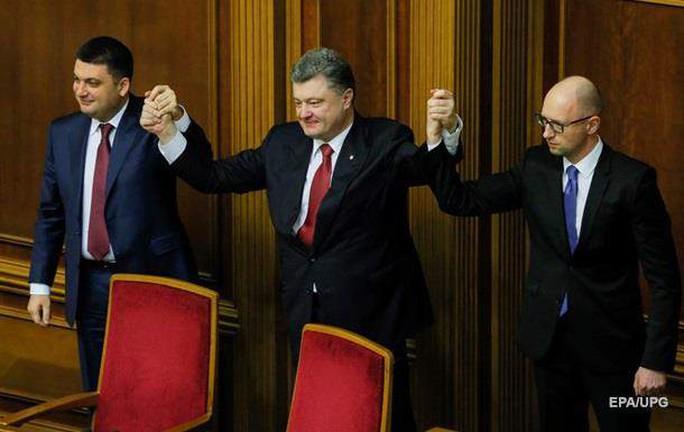 Tổng thống Petro Poroshenko từng tuyên bố phi tài phiệt hóa nền kinh tế Ukraine Ảnh: EPA/UPG