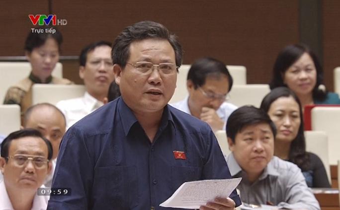 Đại biểu QH lo về tàu vỏ thép, Bộ trưởng nói vẫn an toàn, hiệu quả - Ảnh 1.