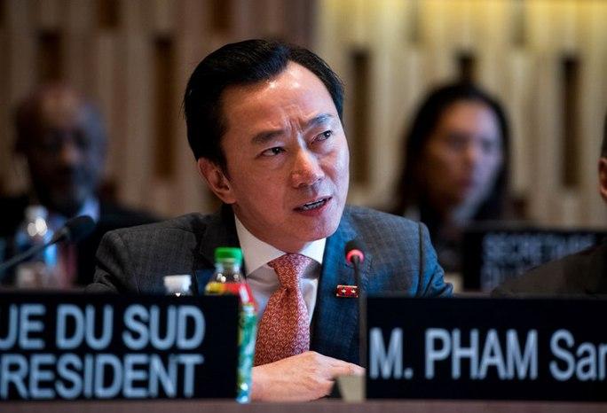 """Đại sứ Phạm Sanh Châu vào """"vòng ba"""" tuyển Tổng Giám đốc UNESCO"""