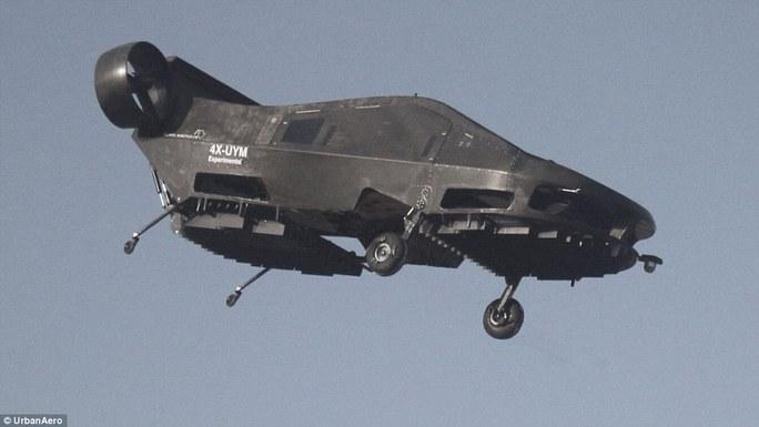Xe tự bay Cormorant trong một chuyến thử nghiệmẢnh: Urban Aeronautics