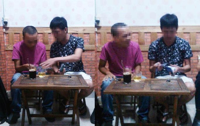 """Phóng viên Báo Người Lao Động bí mật ghi hình """"cò"""" mua vé tàu (bìa trái) ở khu vực ga Sài Gòn Ảnh: HOÀNG TRIỀU"""