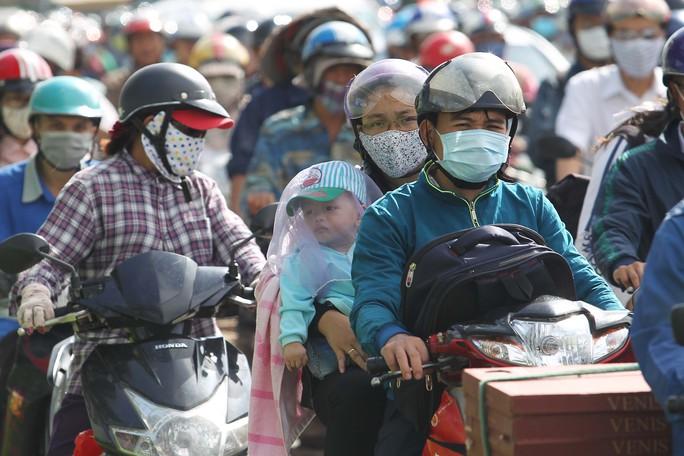 Giao thông ở khu vực Thảo Điền (quận 2, TP HCM) thường xuyên xảy ra ùn tắc Ảnh: HOÀNG TRIỀU