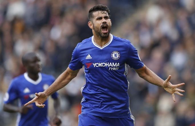 Diego Costa trở lại khiến Chelsea vừa mừng vừa loẢnh: Reuters