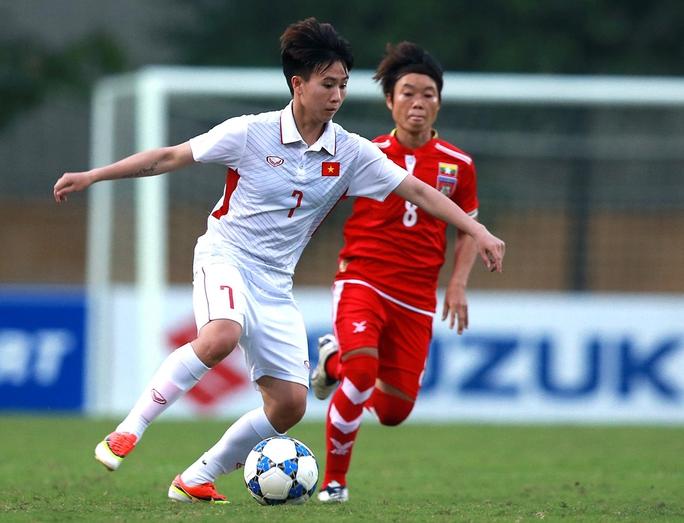 Tuyển bóng đá nữ nhắm kỷ lục của Thái Lan - Ảnh 1.
