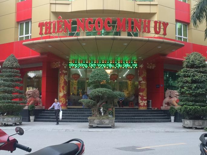 Công ty TNHH Thiên Ngọc Minh Uy đã thu hút khoảng 30.000 người tham gia bán hàng đa cấp