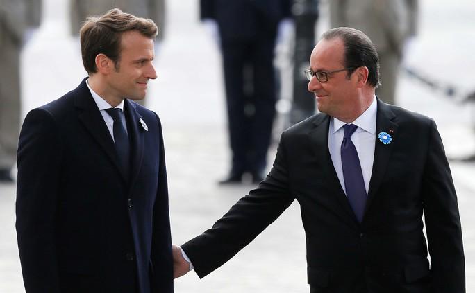 Nhiều thách thức chờ ông Macron - Ảnh 1.
