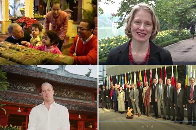 Các Đại sứ gửi lời chúc mừng tốt đẹp đến người dân Việt Nam nhân dịp Tết cổ truyền