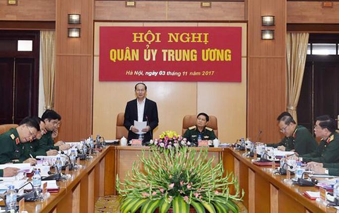 Chủ tịch nước chỉ đạo Hội nghị Quân ủy Trung ương - Ảnh 1.