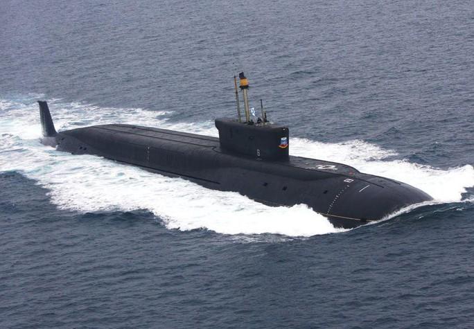 Siêu tàu ngầm Nga khiến đối thủ Mỹ lép vế - Ảnh 1.