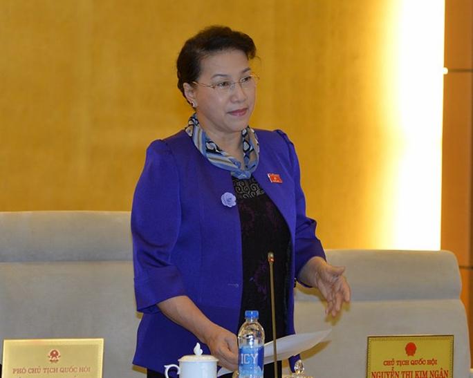 Chủ tịch Quốc hội Nguyễn Thị Kim Ngân - Ảnh: Nguyễn Nam