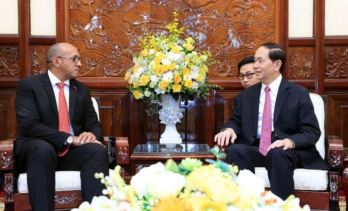 Chủ tịch nước Trần Đại Quang tiếp Đại sứ Cuba - Ảnh 3.