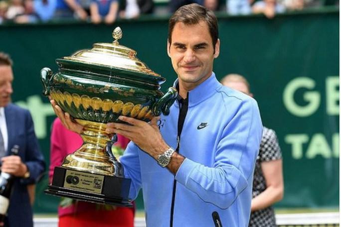 Halle Open: Kỳ tích thứ 9 của Federer - Ảnh 5.