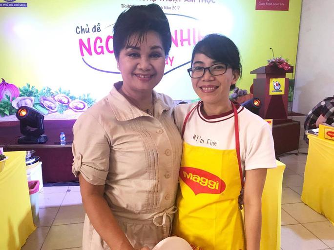 Nghệ sĩ Xuân Hương làm giám khảo Nhà báo với nghệ thuật ẩm thực - Ảnh 1.