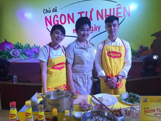Nghệ sĩ Xuân Hương làm giám khảo Nhà báo với nghệ thuật ẩm thực - Ảnh 6.