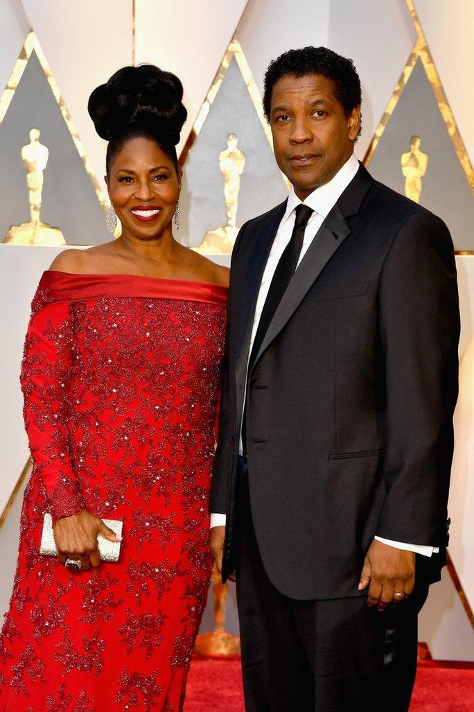 Vợ chồng diễn viên Denzel Washington