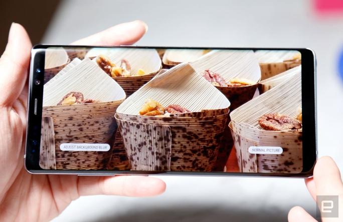 Samsung ra mắt Galaxy Note 8 cạnh tranh iPhone 8 - Ảnh 7.