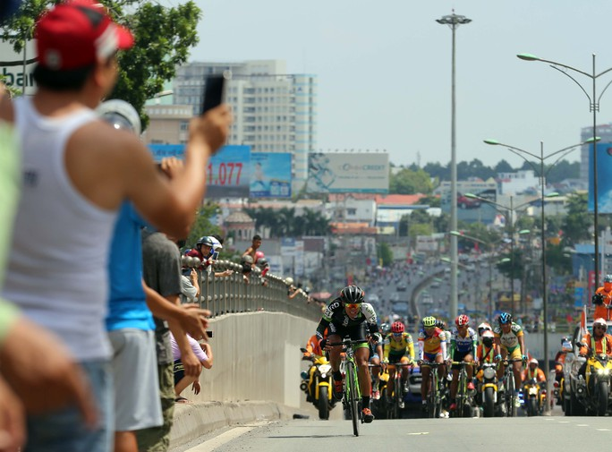 Đoàn đua vào TP Biên Hoà