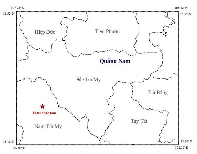 Lại xảy ra động đất gần thủy điện Sông Tranh 2 - Ảnh 1.