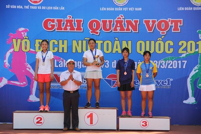 Các tay vợt vô địch U18