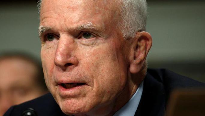 Thượng nghị sĩ John McCain. Ảnh: Reuters
