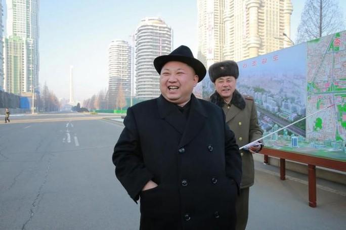 Lãnh đạo Kim Jong Un tiếp tục khiêu khích Hàn Quốc và Mỹ, Nhật Bản. Ảnh: Reuters