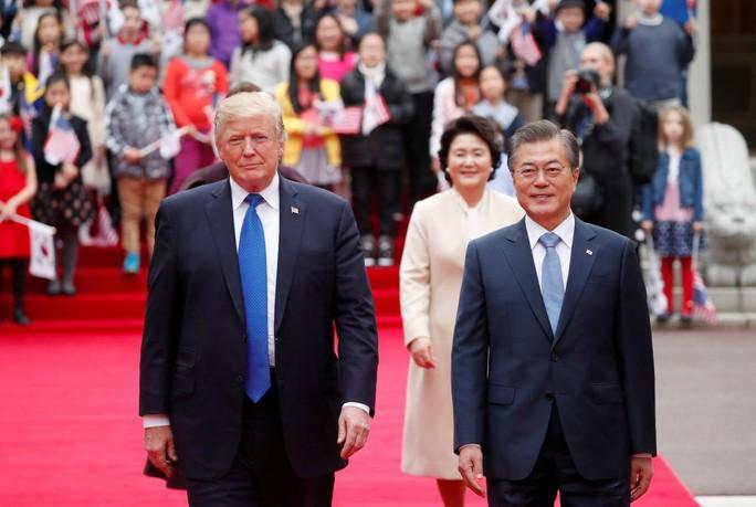 """Tổng thống Donald Trump: """"Phải tìm ra giải pháp đối phó Triều Tiên"""" - Ảnh 1."""