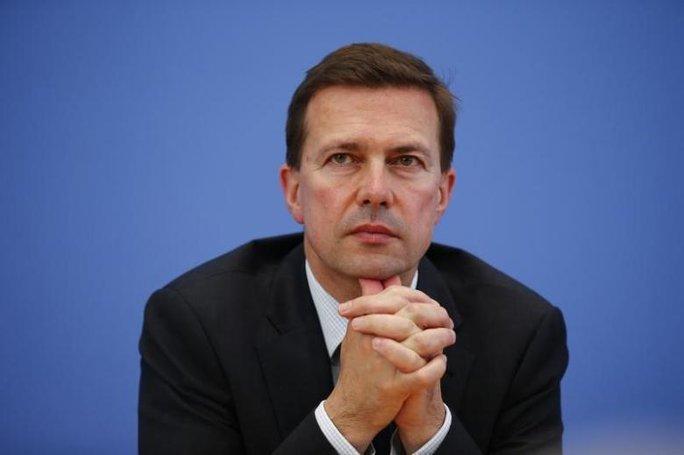 Steffen Seibert, người phát ngôn của Thủ tướng Đức Merkel. Ảnh: Reuters