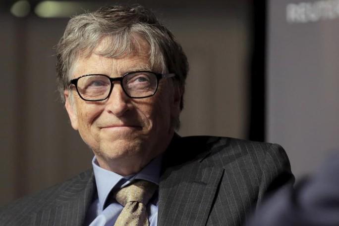 Trong 25 năm tới, nhiều khả năng Bill Gates sẽ trở thành người đầu tiên sở hữu 1.000 tỉ USD. Ảnh: Reuters
