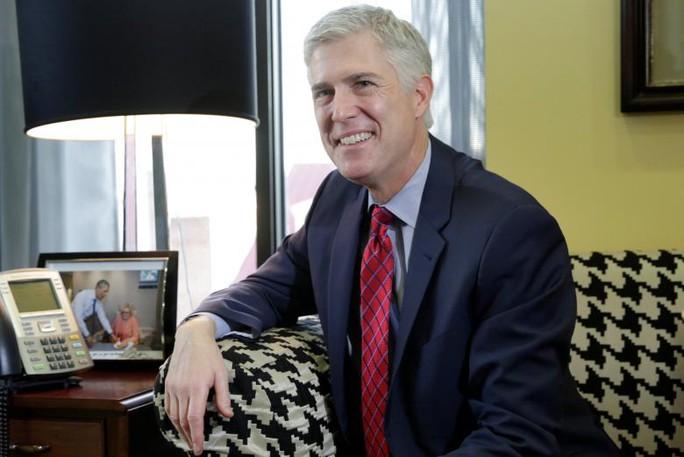 Ứng viên Thẩm phán Tòa án Tối cao Neil Gorsuch. Ảnh: Reuters