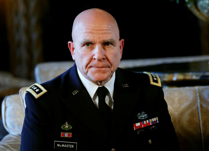 Tân cố vấn an ninh quốc gia Herbert Raymond McMaster. Ảnh: REUTERS
