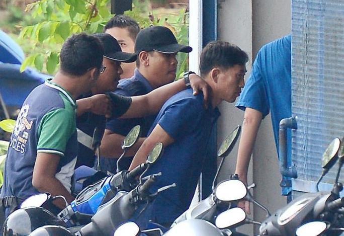 Nghi phạm Ri Jong Chol bị bắt giữ vì liên quan đến cái chết của ông Kim Jong-nam, anh em cùng cha khác mẹ với lãnh đạo Triều Tiên Kim Jong-un. Ảnh: Reuters