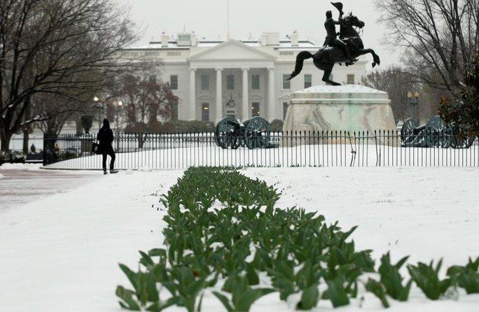 Nhà Trắng lại bị đột nhập hôm 10-3. Ảnh: REUTERS