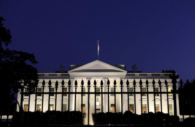 Một người đàn ông hôm 18-3 bị bắt vì có ý đồ đột nhập Nhà Trắng. Ảnh: Reuters