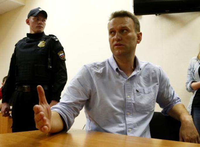 Nga: Phạm luật biểu tình, thủ lĩnh đối lập Navalny lại ngồi tù - Ảnh 1.