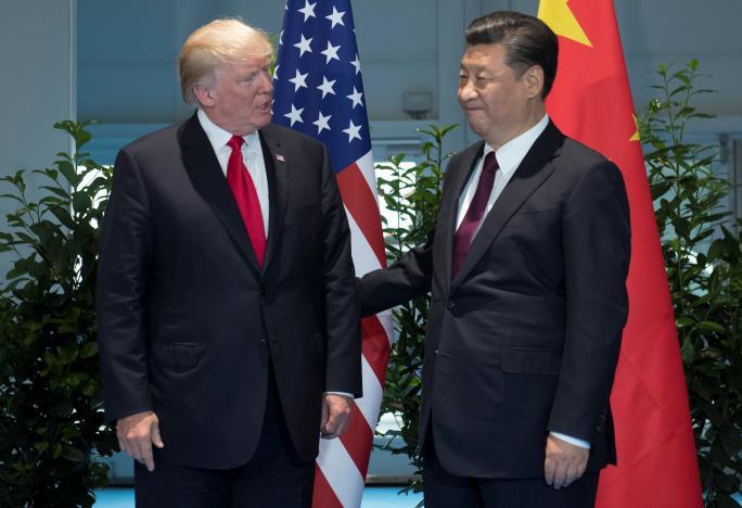 Tổng thống Donald Trump bất ngờ dịu giọng với Trung Quốc - Ảnh 1.