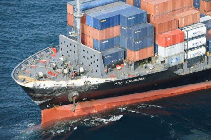 Tàu chiến Mỹ va chạm tàu hàng Philippines, 7 binh sĩ mất tích - Ảnh 3.