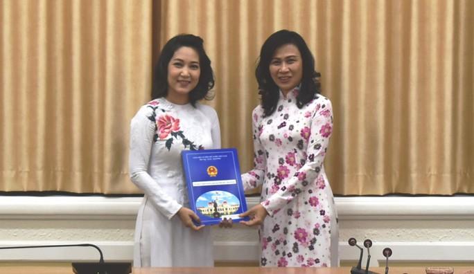 NSƯT Thanh Thúy làm Phó Giám đốc Sở Văn hóa - Thể thao TP HCM - Ảnh 1.