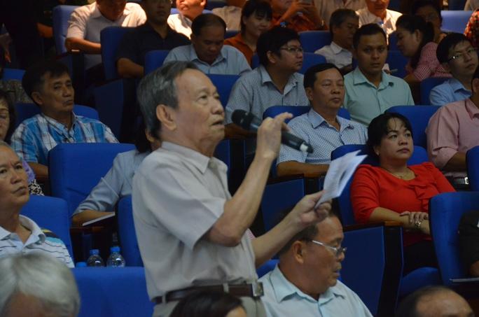 Chủ tịch nước Trần Đại Quang tiếp xúc cử tri TP HCM - Ảnh 5.