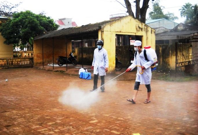 Ổ dịch sốt xuất huyết đầu tiên bùng phát ở Thanh Hóa, 14 ca mắc - Ảnh 1.