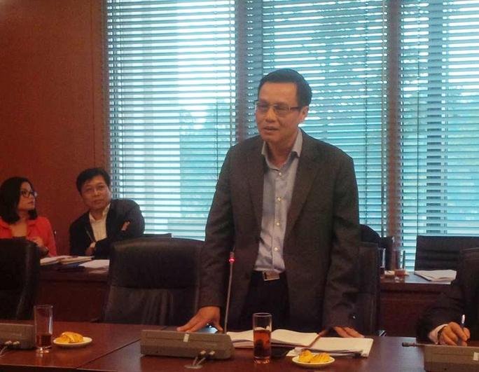 Phó Chủ nhiệm Uỷ ban Kinh tế của QH, ông Dương Quốc Anh đề nghị làm rõ trách nhiệm của chính quyền địa phương đối với dự án BOT