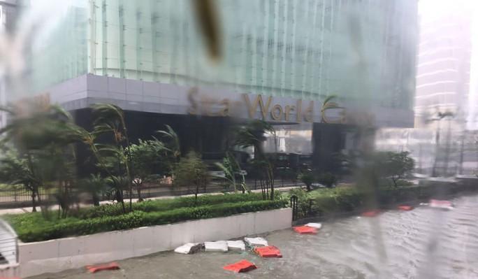 Càn quét Hồng Kông, Macau, bão Hato tràn vào Trung Quốc - Ảnh 3.