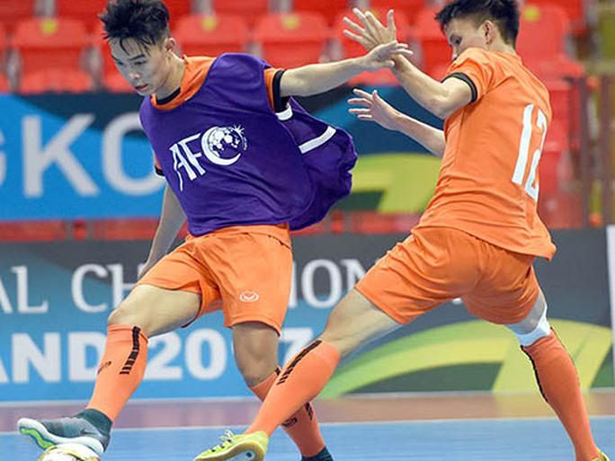 U20 futsal Việt Nam ra quân ở giải châu Á - Ảnh 1.