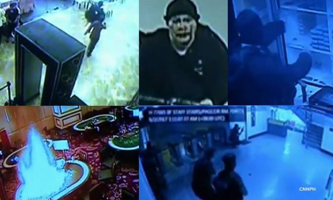 Philippines: Công bố video cận cảnh tay súng thảm sát casino - Ảnh 1.