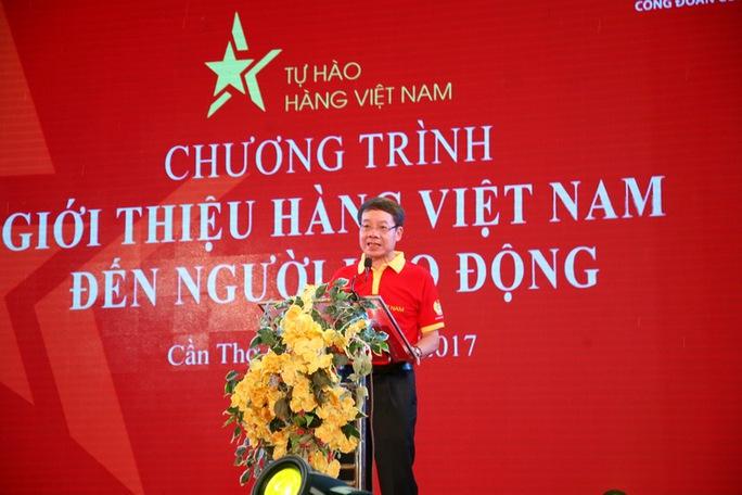 Đưa hàng Việt đến với người lao động Cần Thơ - Ảnh 1.