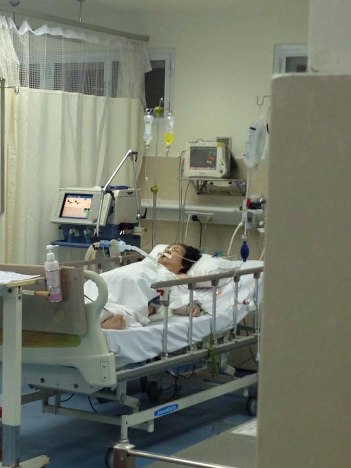 NS Xuân Yến đang được điều trị tại BV Tâm Đức