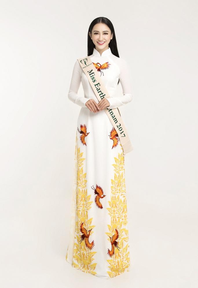 Hà Thu được chọn tranh vương miện Hoa hậu Trái Đất  - Ảnh 5.