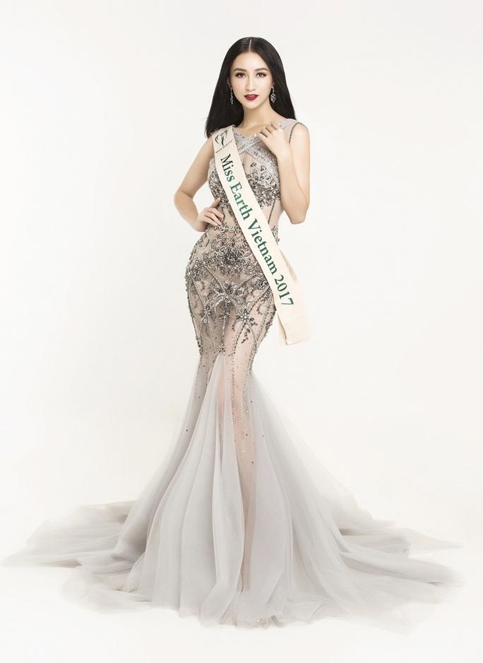 Hà Thu được chọn tranh vương miện Hoa hậu Trái Đất  - Ảnh 6.
