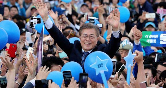 Gay cấn cuộc bầu cử tổng thống Hàn Quốc - Ảnh 1.