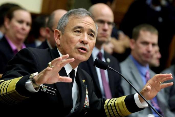 Mỹ: Đô đốc Harry Harris sắp rời vị trí  - Ảnh 1.