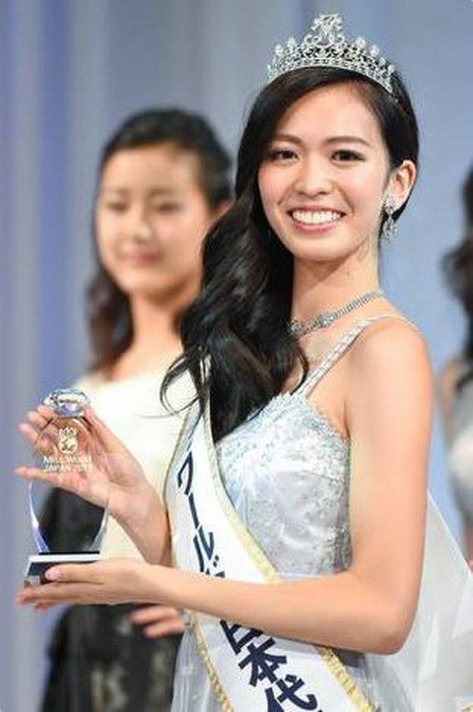 Cận cảnh vẻ đẹp tân Hoa hậu Thế giới Nhật Bản - Ảnh 2.